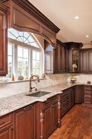 Kitchen Cabinet Valances Dark Brown And White Kitchen Millstone New Jersey By Design Line