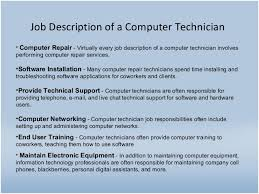 Technical Support Job Description For Resume by Best Job Site In Sri Lankacvlk Computer Technician Job