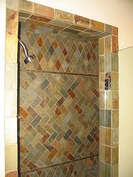 Shower Door Jamb Framing Inside And Outside Of Tile Shower Door Question