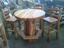 rustic pub table and chairs rustic pub table pictures collaborate decors best rustic pub