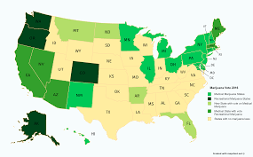 2016 Election Map by Marijuana Map Of The Us After The 2016 Election It U0027s Green