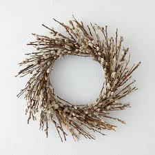 willow wreath front door wreaths terrain