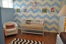 chevron nursery wall thenurseries