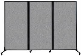 folding mobile partition versare quick wall