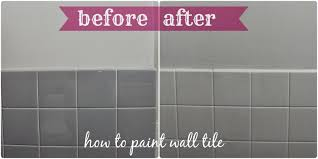 bathroom paint tiles v2painting floor before and after diy