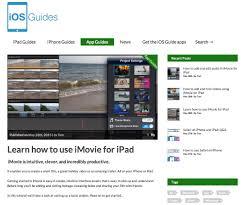 imovie app tutorial 2014 ios guides introduces imovie tutorials