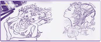 gemini tattoo designs ideas