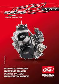 beta engine service workshop manual 2013 enduro rr 250 2t u0026 enduro