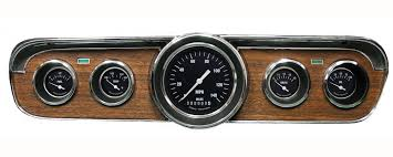 1965 mustang instrument cluster instruments 1965 1966 mustang package rod gauges instrument