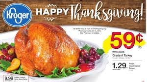 couponing at kroger thanksgiving day meal deals match ups