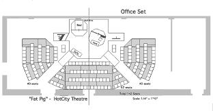 floor plan theater fat pig scene design