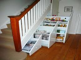 image result for under stairs storage solutions narrow boat