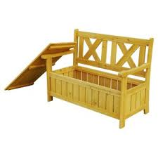 outdoor storage benches hayneedle