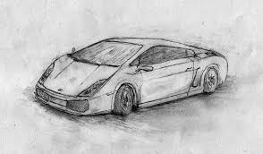 pencil sketch car lamborghini gallardo pencil by antscape d2zs7qd
