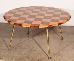 Outdoor Checker Table Made From Mid Century Italian Checkered Coffee Table At 1stdibs