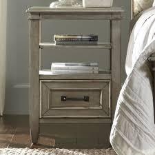 laurel foundry modern farmhouse holsworthy 1 drawer nightstand