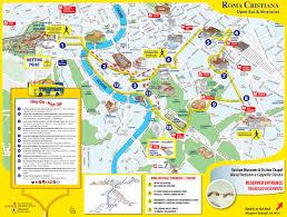 Hop On Hop Off New York Map by Plan Et Carte Touristique De Rome Monuments Et Circuits