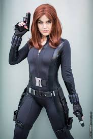 Halloween Costume Black Widow Gorgeous Cosplay Girls Heart 52 Photos Cosplay