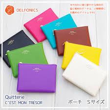 delfonics pouch kyotobunguya rakuten global market delfonics quitterie series