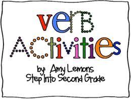 free verb activities by amy lemons teachers pay teachers