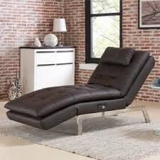 Leather Chaise Lounge Chair Indoor Chaise Lounges Hayneedle