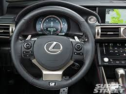 lexus f sport intake is350 2014 lexus is 350 f sport super street magazine