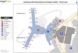 Jacksonville Map Jacksonville Jacksonville International Jax Airport Terminal