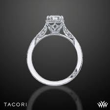 tacori dantela tacori 2620 ec sm dantela crown for emerald diamond engagement