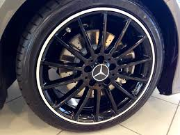 19 black amg wheels