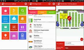 Galleria Mall Map Robinsons Malls App For Zenfone Shoppers Zenfone Rocks