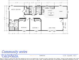 Single Wide Mobile Home Floor Plans Community Series Double Wide Homes Karsten El Dorado