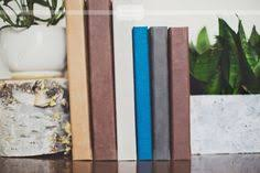 rustic leather photo album panoramic cameo cover in distressed leather on this