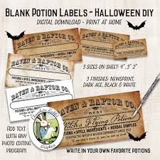 halloween apothecary jar labels diy blank potion bottle labels halloween clipart apothecary