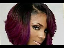 stacked haircuts for black women cute short bob haircuts for black women youtube