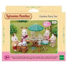 Sylvanian Families Garden - sylvanian families garden party set garden theme