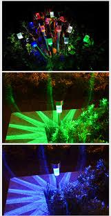 multi colored solar garden lights 5x new solar led path light outdoor garden lawn multi color