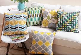 taie d oreiller pour canapé marvelous gros coussins pour canape 12 6 pcs géométrique place