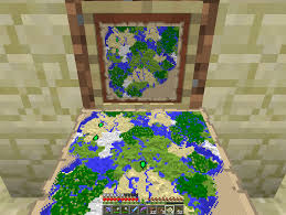 Mincraft Maps Maps On Item Frames Discussion Minecraft Java Edition