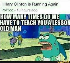 Funniest Spongebob Memes - funny meme humor spongebob hillary trump art and humor