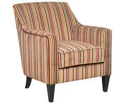 golding candy striped fabric arm chair