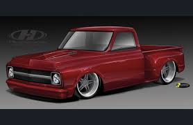 1952 Ford Truck Vintage Air - a 1952 ford f 1 u0026 pro touring chevy truck radical renderings