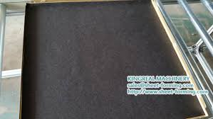 Stick On Ceiling Tiles by Kingreal Aluminum Ceiling Tile Making Machine Had Been Exported To
