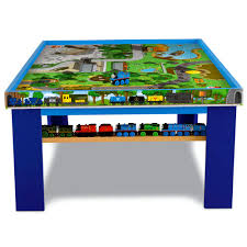 thomas train set wooden table fisher price y4412 thomas friends wooden railway island of