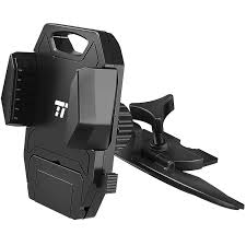 amazon com car phone mount for cd player slot taotronics phone