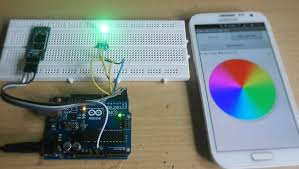 arduino rgb led control using bluetooth youtube