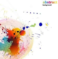 colored paint splatter background free vector download 53 443