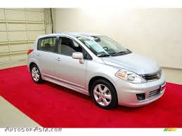 grey nissan versa hatchback 2010 nissan versa 1 8 sl hatchback in brilliant silver metallic