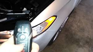 2011 ford fusion battery replacement 2014 ford fusion titanium sedan testing key fob after changing