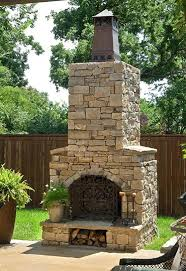 Outdoor Fireplace Canada - outdoor fireplace kits in engineered arched masonry brick uk gas