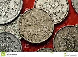 Camino De Santiago Map Coins Of Spain Camino De Santiago Stock Photo Image 67976667
